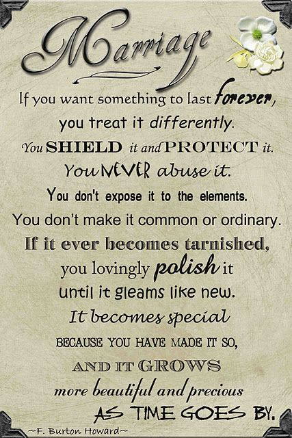 If You Want Something To Last Forever...