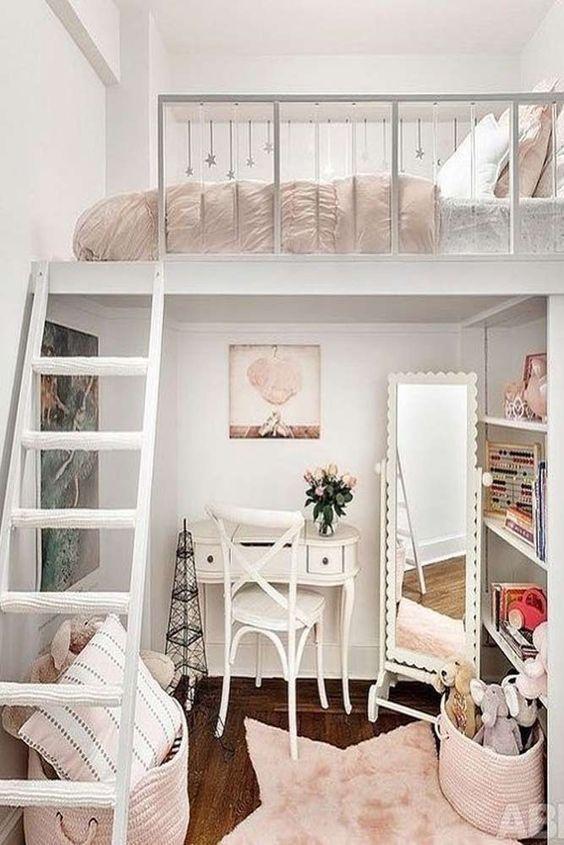 Stylish And Multi Functional Loft Bedroom Ideas Decorface Com In 2020 Small Room Bedroom Stylish Bedroom Small Bedroom