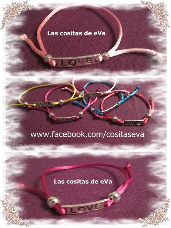 Pulseras Love
