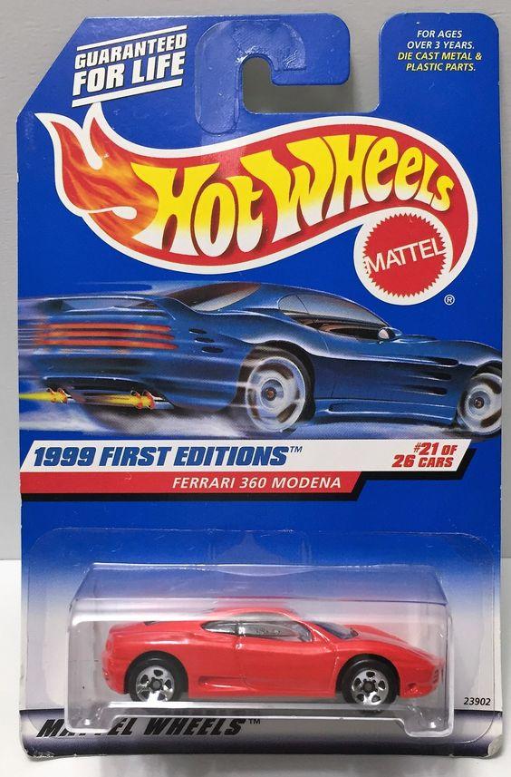 (TAS034403) - 1998 Mattel Hot Wheels 1999 First Editions - Ferrari 360 Modena