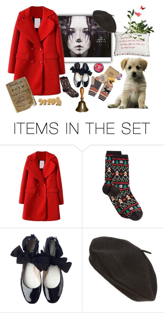 """""""BUTTON NOSE..."""" by augustana ❤ liked on Polyvore featuring art"""