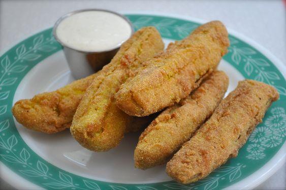 Fried Pickles...don't knock it til you've tried it!