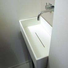 salle de bain en Corian - Recherche Google