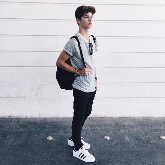 Ropa casual para adolescentes hombres