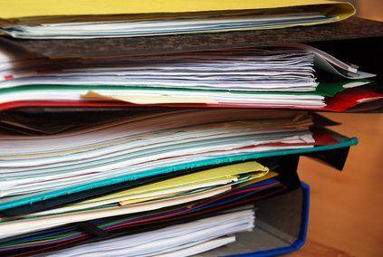 Ranger et trier vos papiers conservation organisation et photos - Conservation papier administratif ...