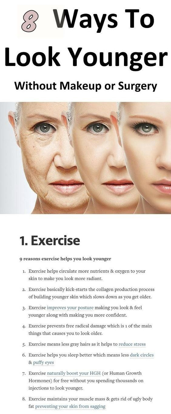 9 Easy Ways To Look Younger After 30 Women Fitness Magazine Younger Skin Look Younger Dry Skin Remedies