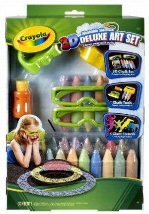 Crayola 3D Deluxe Art Set    $13.31