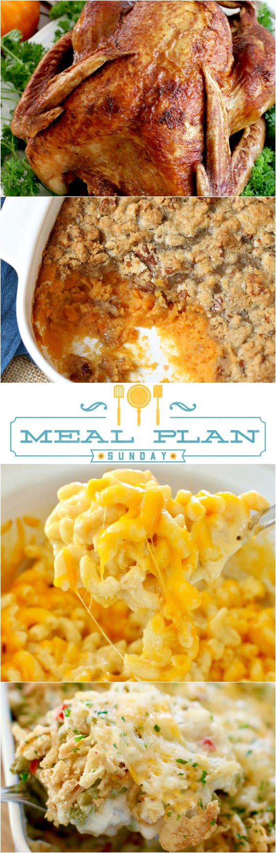 Thanksgiving recipes meal plan sunday 8 easy sweet for Easy thanksgiving green bean recipes