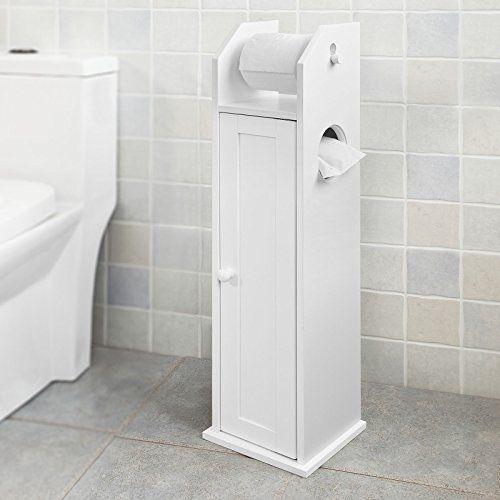 Haotian Frg135 W White Free Standing Wooden Bathroom Toi Https Www Amazon Com Dp B071z7l7dd Ref Cm Sw R Pi Dp X E0fhab1f Goruntuler Ile Banyo Dolabi Dolaplar Tuvaletler