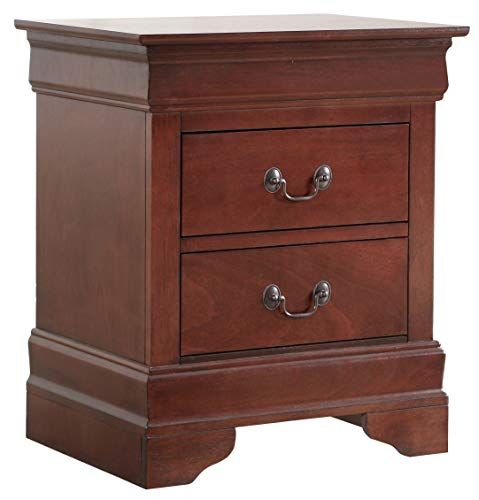 Glory Furniture Louisphillipe G02100 N Cherry Nightstand 24 Nightstand Furniture Cherry Nightstand