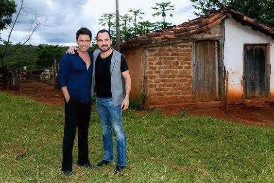 Zezé Di Camargo e Luciano: emoção em visita ao Sítio Novo