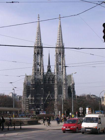 Votivkirche. Wien.Österreich.
