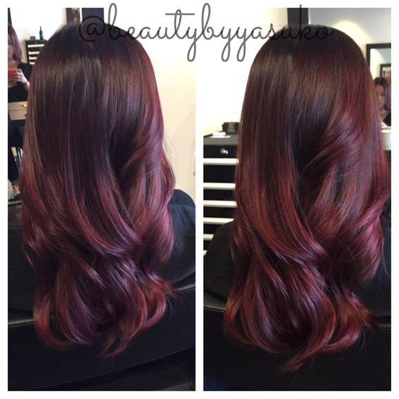 red violet hair color ombre wwwimgkidcom the image