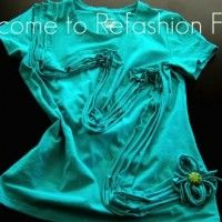 Blog all about how to refashion old clothing into new things to wear.