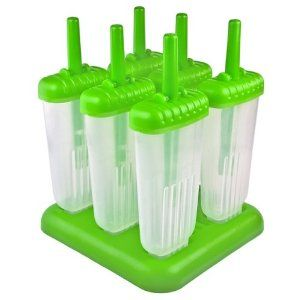 #9: Tovolo Green Groovy Ice Pop Molds, Set of 6