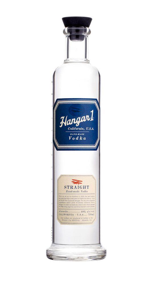 Hangar 1 Vodka   Designed by Stranger & Stranger