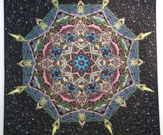 Cape Kaleidoscopes quilt - Beauty in the Universe  Janice Chesnik, master quilter www.capekaleidoscopes.com/janice-chesnik