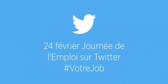 Twitter organise une journée de l'emploi le 24 février!