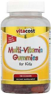 Vitacost Multi-Vitamin Gummies #vitacostnatural