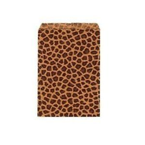 "50 4 X 6 Small Paper Bags Cheetah Leopard Animal Print Party Retail Free Shipping From Sprinkles by Sprinkles Gifts. $4.99. New 50  Pack 4"" x 6 "" Leopard Print Flat Paper Merchandise Bags.  Compare sizes before you buy as these come smaller as well online. We also have many size leopard print cardboard jewelry boxes as well ONLY AT SPRINKLES GIFTS!."
