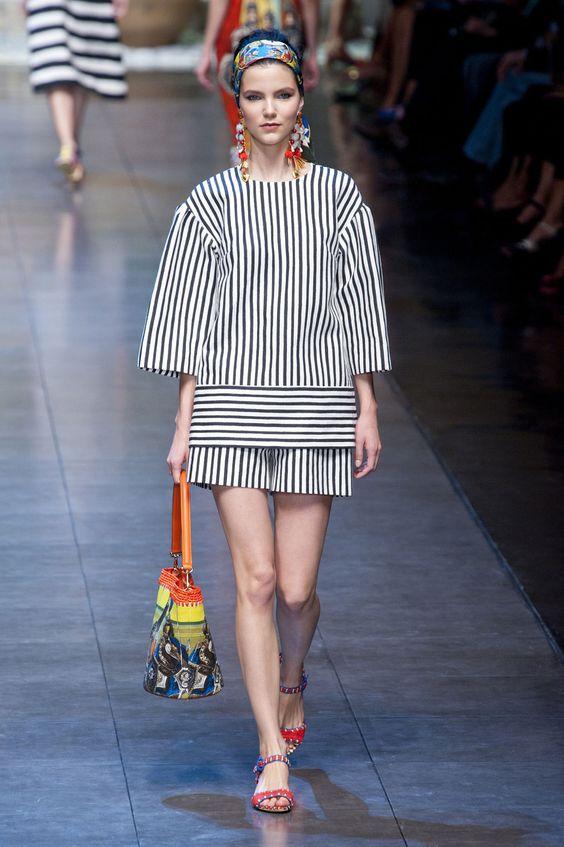 Dolce & Gabbana at Milan Spring 2013