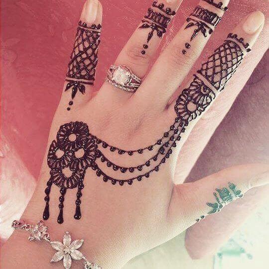 mehndi designs for children s hand
