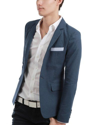 NOTES: Dark blue pants runs with light blue jacket and white shirt