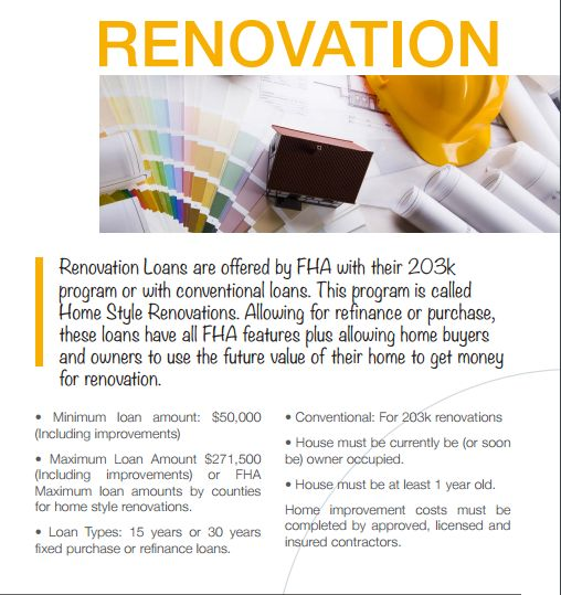 Home Improvement Loan Flyers Ibovjonathandedecker Extraordinary Home Remodeling Loan Style Remodelling