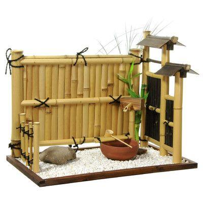 Oriental Furniture Zen Mini Rock Garden