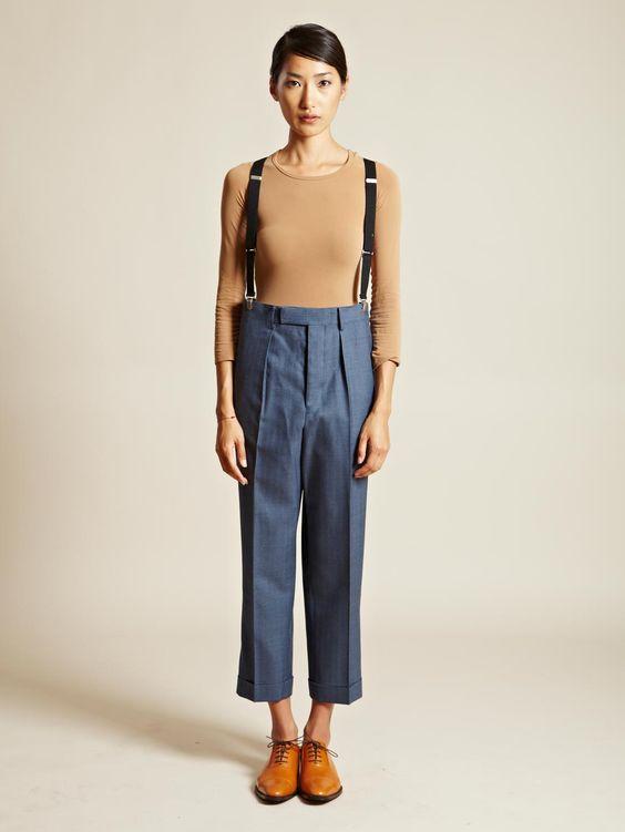 Junya Watanabe Women's Drop Crotch Pants