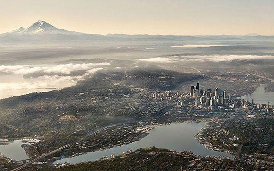 15 extraordinaires photos de grandes villes vues du ciel