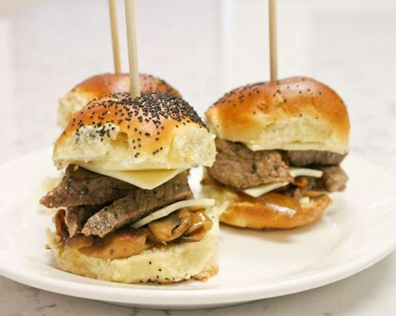 Mini Steak and Cheese on a Stick Recipe (Photo courtesy of Tyler Sullivan)