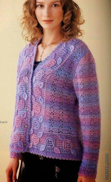 Marisabel crochet: Sacos