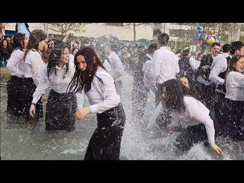 Portugues Mergulho De Finalistas Queima Das Fitas Semana Academica Universidade Utad Vila Real Portugal 2018 Abril 21 Doutoras Dance Celebrities Wet