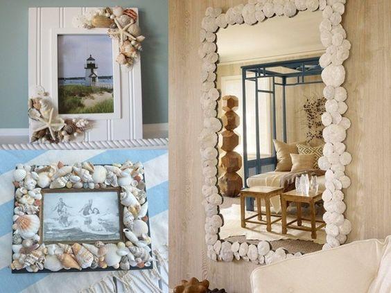 Specchi decorati fai da te (Foto)   Tempo Libero