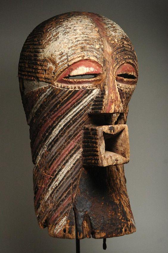 Old Songye Kifwebe mask