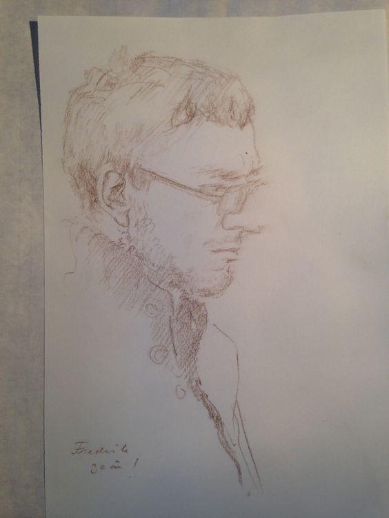 Portrait of My man!
