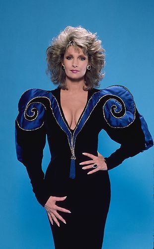Dr. Marlena Evans- in the 80's  #bighair #shoulderpads