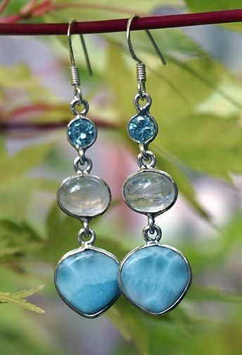 Larimar Jewelry http://www.thesacredfeminine.com/larimar.html