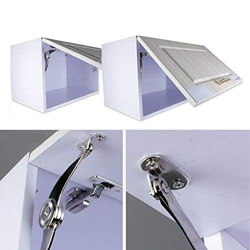 1 Set Soft Close Lift Up Stay Hinge Concealed Door Kitchen Cabinet Cupboard