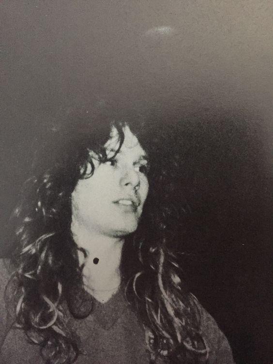John Sykes of THIN LIZZY 1983