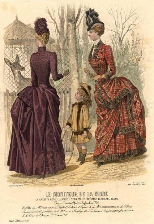 Le Moniteur de la Mode 1887
