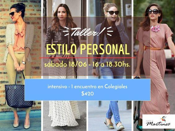 Próximo Taller de Estilo Personal Sábado 18/6 16hs. Más info: http://estefaniaotturi.com.ar/cursos-y-clases/taller-estilo-imagen-junio