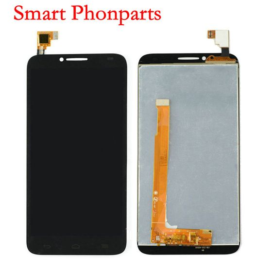 (Buy here: http://appdeal.ru/m31 ) Tested Good For Alcatel One Touch Idol 2 OT6037 6037 6037L 6037B LCD Display with Touch Screen Digitizer Black White Colors for just US $34.50
