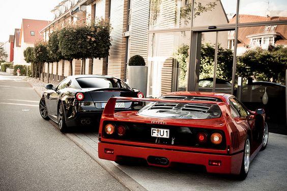 Ferrari 599 Fiorano and F40