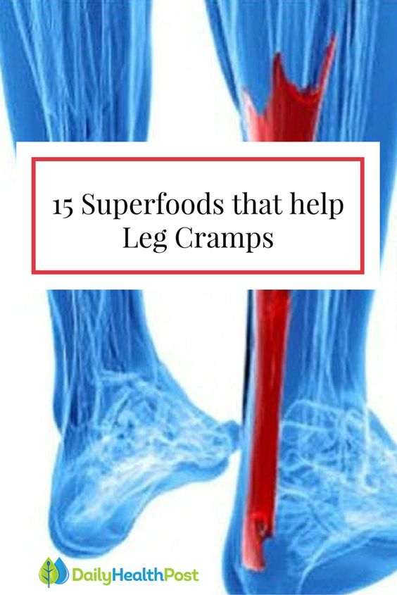 This Why Your Legs Cramp At Night And How To Stop It From Happening Ever Again. Here are 15 foods you can eat to prevent leg cramps #Superfoods