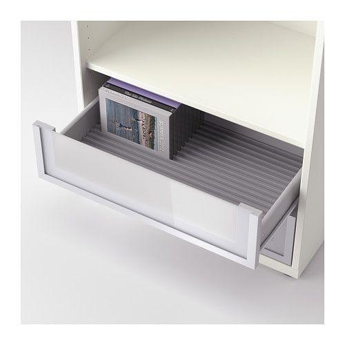 inreda dvd rack ikea living room pinterest gray drawers and storage. Black Bedroom Furniture Sets. Home Design Ideas