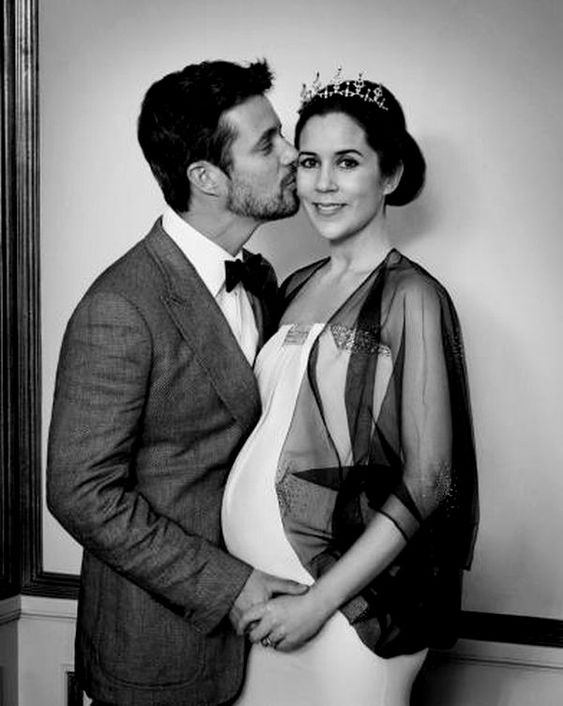 Crown Princess Mary whilst pregnant   #royalerio