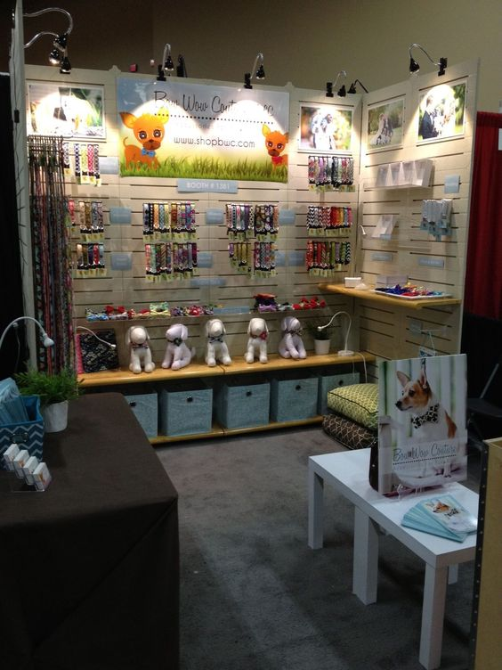 Our SuperZoo trade show booth! www.shopbwc.com #DogGroomingTips