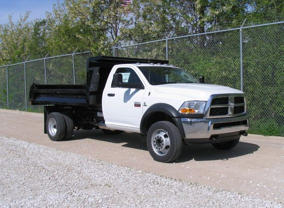 Dodge Ram 5500 Chassis with a KDBDS 1112A Drop Side Dump